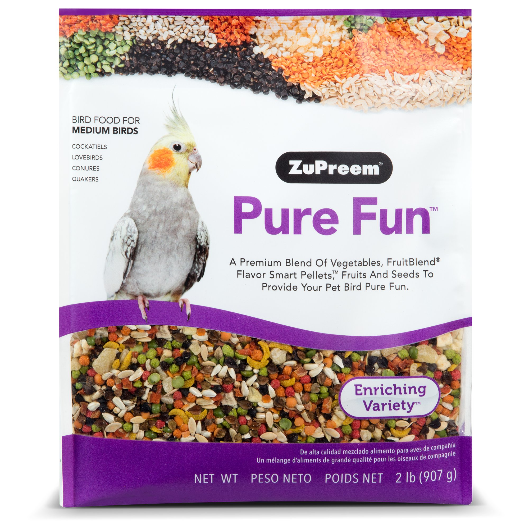 Zupreem Pure Fun Medium Birds