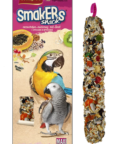 Treat Stick Parrot Fruit Maxi Twin Pack